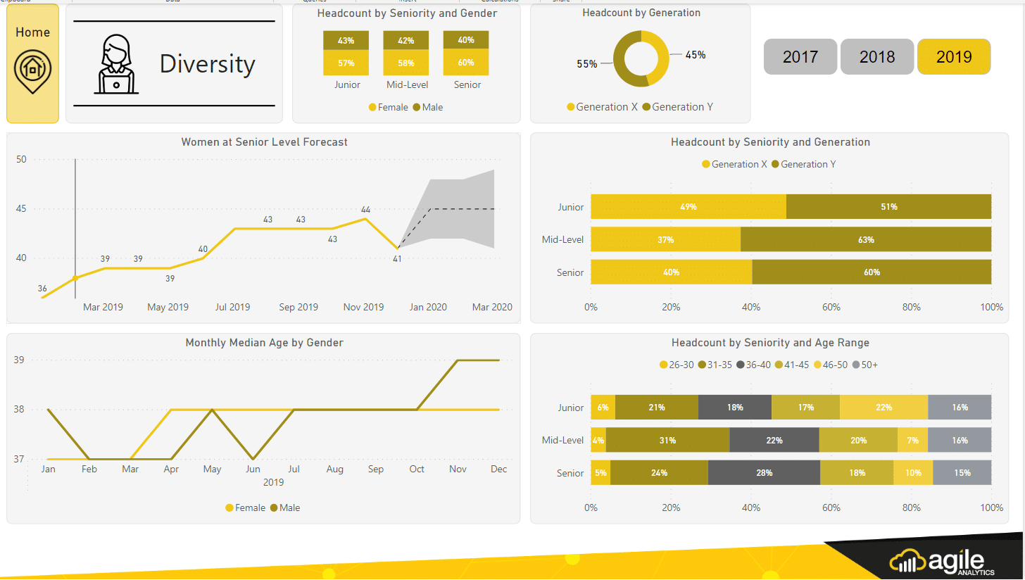 HR Diversity Dashboard